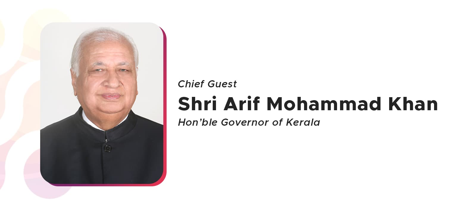 Hounarable governor of kerala will be Inaugurating TENCON 2019